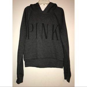 Victoria's Secret PINK Grey Hoodie Sweatshirt